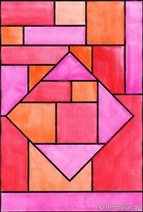 geometrische formen ton  ton tolle idee fuer ihren