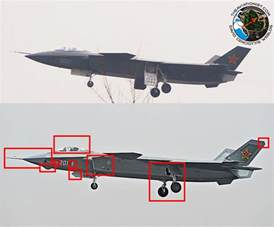 Chinese Stealth Fighter Prototype
