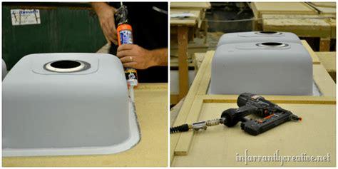 undermount kitchen sink installation karran sink infarrantly creative 6589