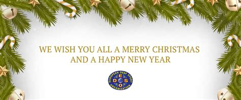 european deaf sports organisation merry christmas and happy new year 2018