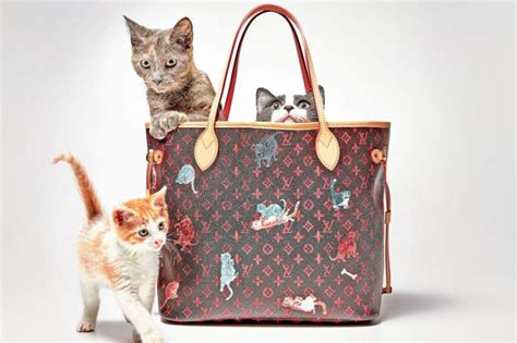 louis vuitton unveils  catogram collection   wholly inspired  fabulous felines
