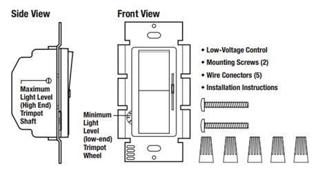 lutron diva dvstv   dimmer  voltage controller