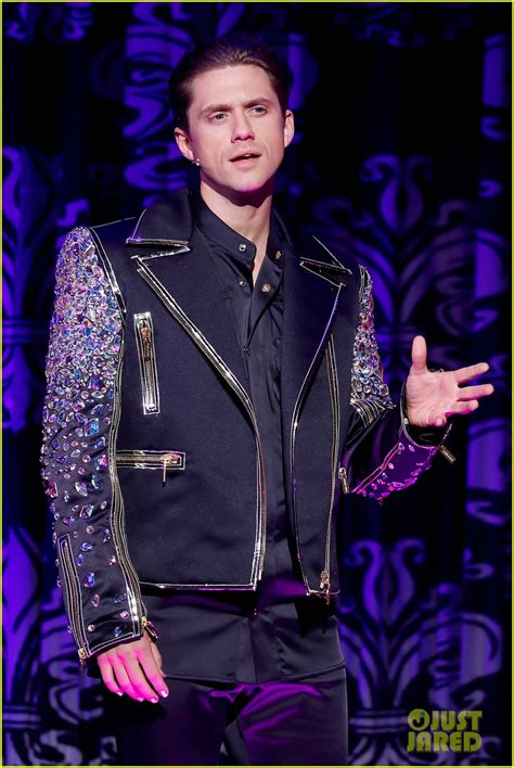Aaron Tveit Billy Porter Perform During The Blonds Nyfw