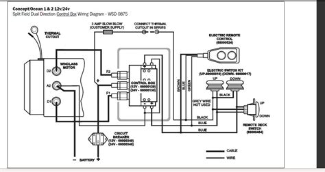 can you lewmar windlass parts and wiring diagram