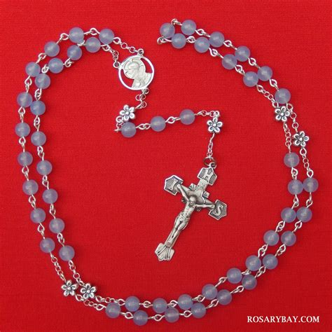 """The Holy Name of Jesus Rosary IHS Crucifix """"Iesus Hominum"""