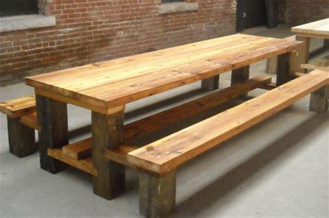 Restaurant Picnic Table.Reclaimed Wood.Hemlock copy   Flickr