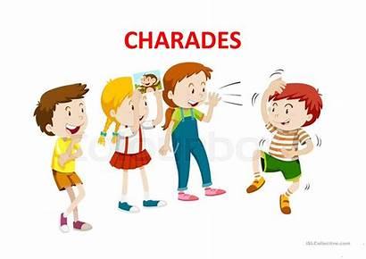 Charades Games Screen Esl