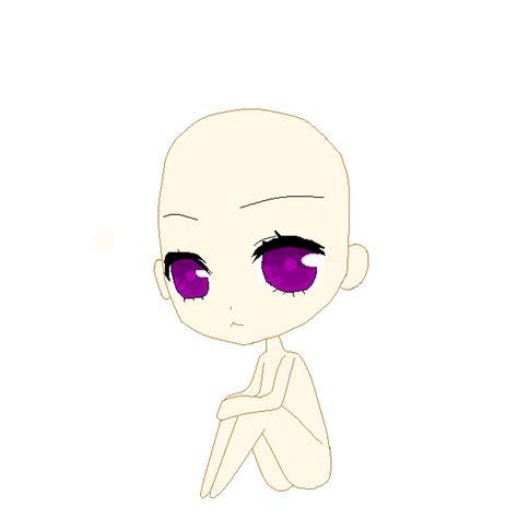 anime chibi sitting base 1 chibi sitting pose by vocaloid on deviantart