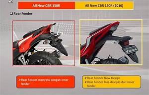 17 Perbedaan Honda New Cbr150r Vs Old Cbr150r U2026 U2026berikut