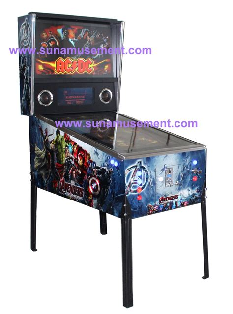 2017 hot sale 863 games wooden virtual pinball game