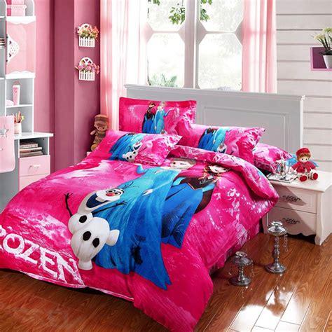 disney frozen bedding set  cotton pcs