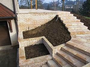 Mur De Photos : ma onnerie de jardin dans le doubs duchesne jardins ~ Melissatoandfro.com Idées de Décoration