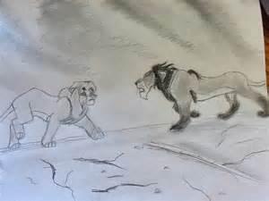 Lion King Scar Drawings