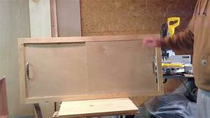 How to make a sliding cabinet faceplate and door - YouTube