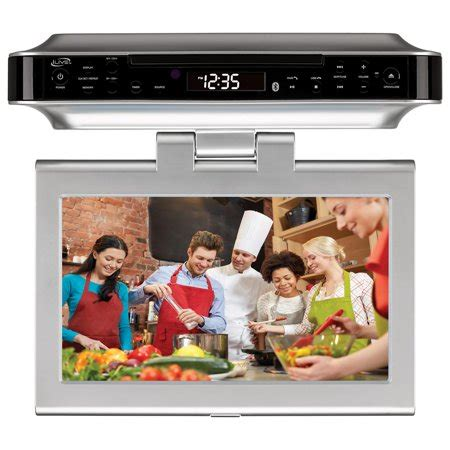 cabinet kitchen tv dvd combo ilive bluetooth wireless the counter cabinet kitchen 9525