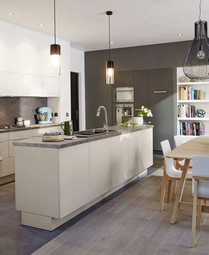 cuisine contemporaine avec ilot central cuisine contemporaine moderne chic urbaine côté