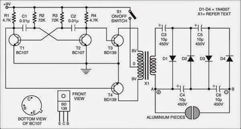 simple electric shock gun circuit diagram check more at tech electronic schematics