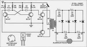 Circuit Diagram Of Fish Shocker  Current Electric Chewing