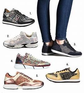 Tendance Chaussures Automne Hiver 2016 : tendance automne hiver 2015 2016 sneakers en tweed ~ Melissatoandfro.com Idées de Décoration