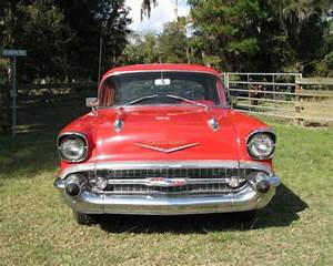 Sell Used 1957 Chevy 4 Door Running Driving Survivor In
