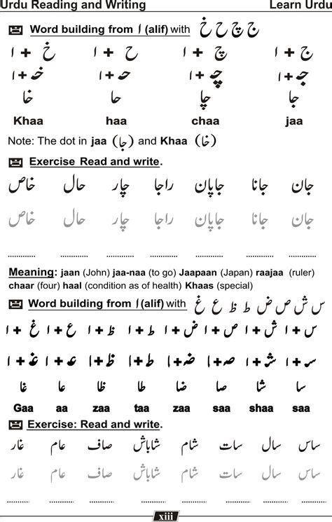 learn urdu language urdu learning arabic urdu words