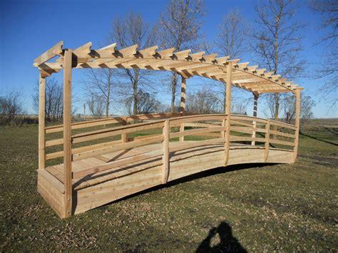 wooden arched garden bridge plans pdf plans