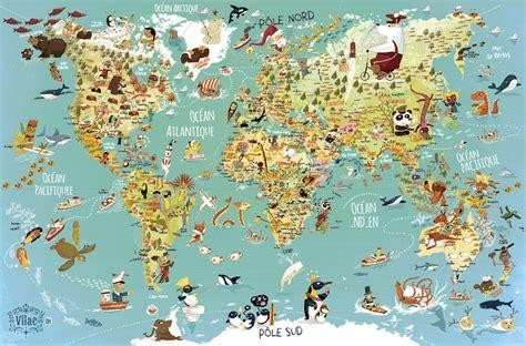 Acheter Carte Du Monde Geante by Carte Du Monde Monde Du Carte World Map Weltkarte Carte