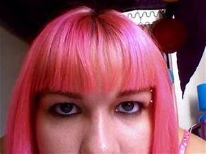Manic Panic Cotton Candy Pink On Unbleached Hair | www ...
