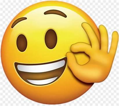 Emoji Ok Clipart Smiley Emoticon Emotion Clip