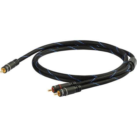 cinch y kabel black connect subwoofer mkii cinch y kabel 2 50m cinch