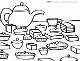 Tea Coloring Printable Printables Pages Birthday Parties Coolest Colouring Theme Adults Cups Adult A4 Discover Creative sketch template