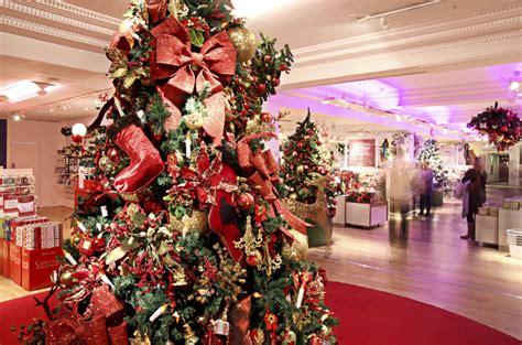 christmas shops  london christmas shopping