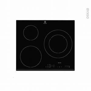 Plaque Induction 3 Feux : plaque de cuisson 3 feux induction 60 cm verre noir ~ Dailycaller-alerts.com Idées de Décoration