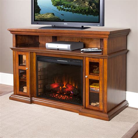 contemporary electric fireplace tv stand fireplace