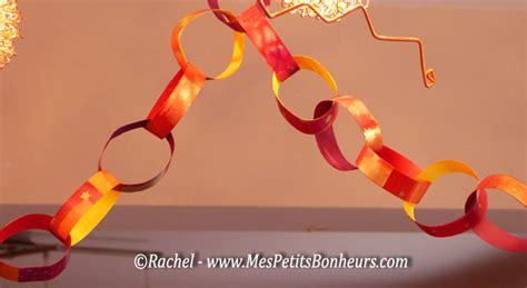 d 233 co de no 235 l guirlandes anneaux en papier bricolage facile