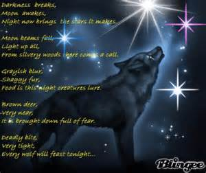Short Poems About Wolves