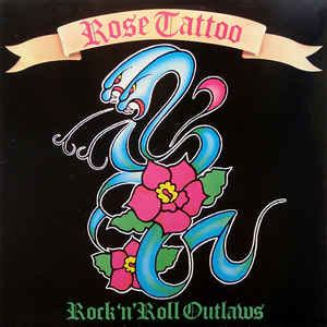rose tattoo rock  roll outlaws  vinyl discogs