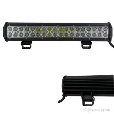 17 inch 108w cree led light bar for truck trailer 4x4 4wd