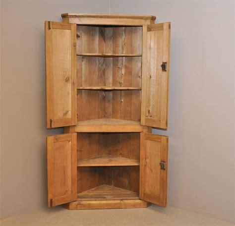 Pine Corner Cupboards by Pine Corner Cupboard P2959 Antiques Atlas