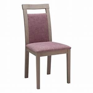 Chaise De Sejour : chaise de s jour contemporaine en ch ne massif et tissu coraly 4 pieds tables chaises et ~ Teatrodelosmanantiales.com Idées de Décoration