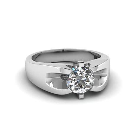 1 carat mens wedding ring in 18k white gold fascinating diamonds
