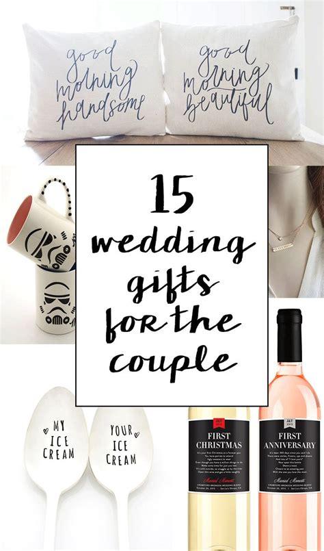 sentimental wedding gifts   couple