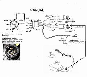 Bmw E60 Headlight Wiring Diagram - Database