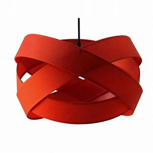 Luminaire Design Pas Cher : luminaire suspension rouge pas cher ~ Dailycaller-alerts.com Idées de Décoration