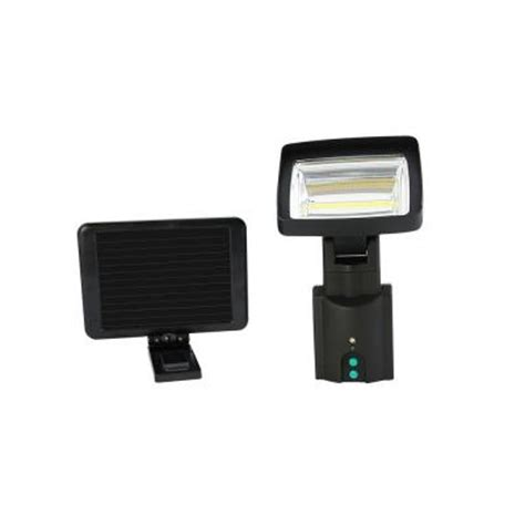 nature power cob led motion activated solar security light