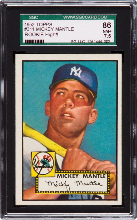 baseball cards investment card graded topps advice mays sports willie antique