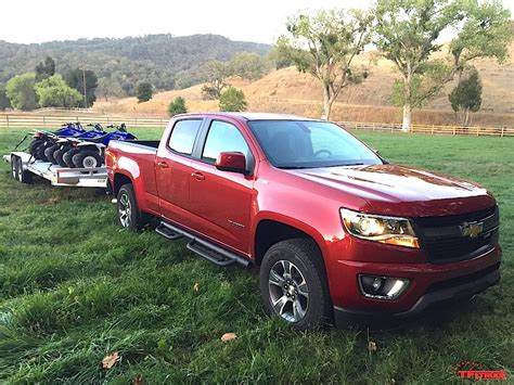 First Drive Review Of The 2016 Chevy Colorado Duramax