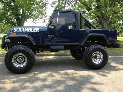 jeep scrambler 1982 purchase used 1982 jeep scrambler beautiful no reserve