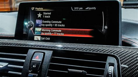 Spotify Launches In Bmw Dashboards Roadshow