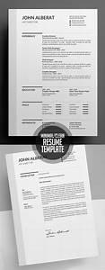 Adobe Photoshop Cv Template New Simple Clean Cv Resume Templates Design Graphic